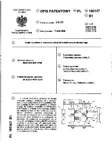 Czujnik wydłużenia, zwłaszcza próbek do badania zmęczenia cieplnego : opis patentowy nr 180147
