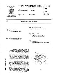 Sposób i urządzenie do walcowania : opis patentowy nr 188428