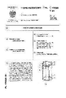 Aparat do wydłużania kości kończyn : opis patentowy nr 170320