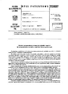 Układ do wyznaczania przestrzennych rozkładów naprężeń lub własności mechanicznych w materiałach ferromagnetycznych : opis patentowy nr 113837