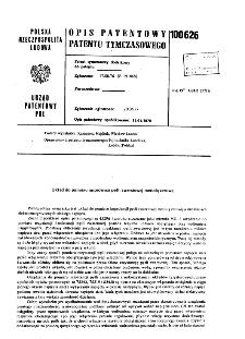 Układ do pomiaru impedancji pętli zwarciowej metodą zerową : opis patentowy patentu tymczasowego nr 100626