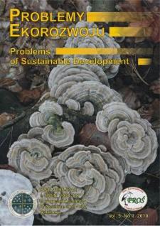 Problemy Ekorozwoju : studia filozoficzno-sozologiczne Vol. 5, Nr 1, 2010