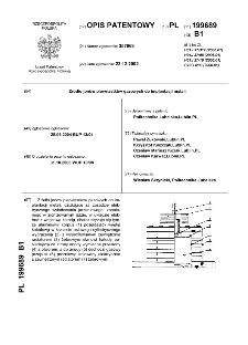 Źródło jonów pierwiastków gazowych do implantacji metali : opis patentowy nr 199689