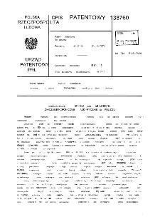 Elektromagnetyczne sprzęgło kłowe lub uzębione załączane synchronicznie, automatycznie bez poślizgu : opis patentowy nr 138760