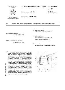 Sposób i układ do wykorzystania ciepła z dolnego źródła ciepła obiegu silnikowego : opis patentowy nr 195055