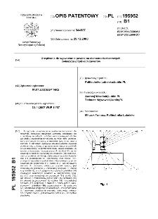 Urządzenie do wytwarzania powłok na elementach obrotowych, zwłaszcza grzybkach zaworów : opis patentowy nr 195952