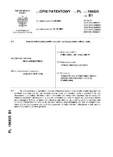 Sposób wytwarzania powłok na rurach, zwłaszcza wymienników ciepła : opis patentowy nr 196925