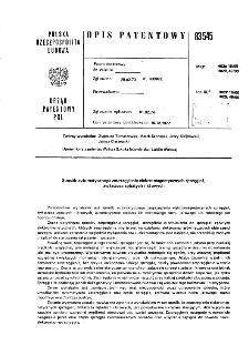 Sposób automatycznego zesprzęglania elektromagnetycznych sprzęgieł, zwłaszcza zębatych i kłowych : opis patentowy nr 83545