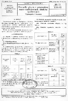 Uszczelki głowic i przewodów ssąco-wydechowych silników spalinowych - Wymagania i badania BN-75/1306-01