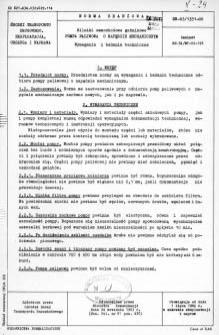 Silniki samochodowe gaźnikowe - Pompa paliwowa o napędzie mechanicznym - Wymagania i badania techniczne BN-63/1351-06