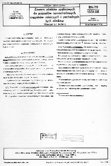 Zawory silników spalinowych do pojazdów samochodowych, ciągników rolniczych i pochodnych tych silników - Wymagania i badania BN-79/1351-08