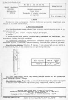 Silniki samochodowe - Pompy wodne - Wymagania i badania techniczne po naprawie BN-64/3627-02