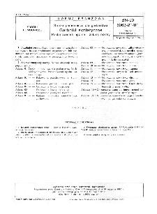 Środki pomocnicze dla garbarstwa - Garbniki syntetyczne - Postanowienia ogólne i zakres normy BN-90/6063-21/01
