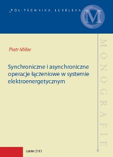 Synchroniczne i asynchroniczne operacje łączeniowe w systemie elektroenergetycznym
