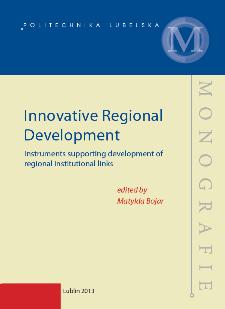Innovative regional development : instruments supporting development ofregional institutional links