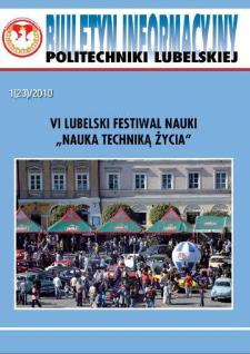 Biuletyn Informacyjny Politechniki Lubelskiej 1(23)2010