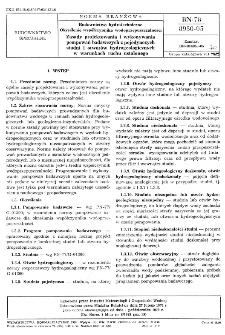 Budownictwo hydrotechniczne - Określenie współczynnika wodoprzepuszczalności - Zasady projektowania i wykonywania pompowań badawczych z pojedynczych studni i otworów hydrogeologicznych w warunkach ruchu ustalonego BN-78/8950-05
