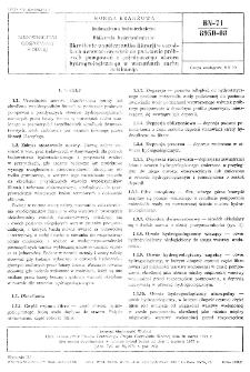 Budownictwo hydrotechniczne - Obliczenia hydrogeologiczne - Określenie współczynnika filtracji w ośrodkach dwuwarstwowych na podstawie próbnych pompowań z pojedynczego otworu hydrogeologicznego w warunkach ruchu ustalonego BN-71/8950-08