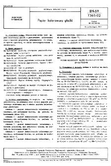 Papier kolorowany gładki BN-69/7365-02