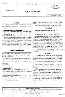Papier rysunkowy BN-71/7324-03
