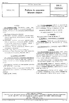 Podłoże do nasycania lakierem olejnym BN-71/7333-04
