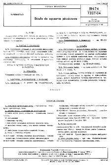 Bibuła do sączenia jakościowa BN-74/7327-04