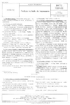 Podłoże na kalki do kopiowania BN-73/7329-03