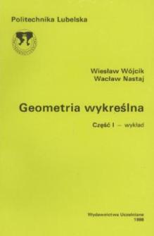 Geometria wykreślna. Cz. 1