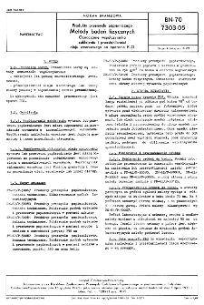 Produkty przemysłu papierniczego - Metody badań fizycznych - Oznaczanie współczynnika zaklejania i przesiąkliwości oleju wzorcowego na aparacie PLG BN-70/7303-05