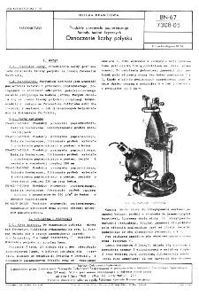 Produkty przemysłu papierniczego - Metody badań fizycznych - Oznaczanie liczby połysku BN-67/7308-05