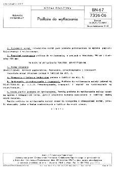 Podłoże do wytłaczania BN-67/7326-06