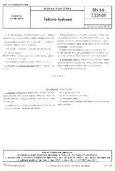 Tektura tynkowa BN-66/7331-01