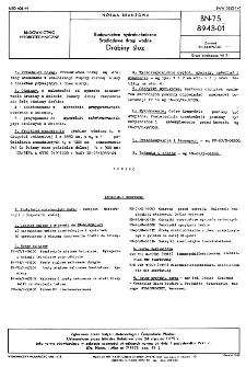 Budownictwo hydrotechniczne - Śródlądowe drogi wodne - Drabiny śluz BN-75/8943-01