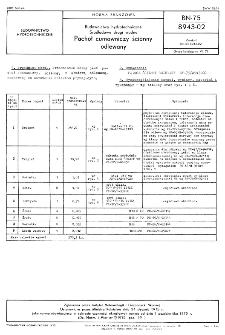 Budownictwo hydrotechniczne - Śródlądowe drogi wodne - Pachoł cumowniczy ścienny odlewany BN-75/8943-02