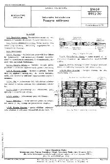Budownictwo hydrotechniczne - Faszyna wiklinowa BN-69/8952-30
