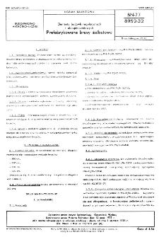 Elementy budowli regulacyjnych i ubezpieczeniowych - Prefabrykowane brusy żelbetowe BN-77/8952-32