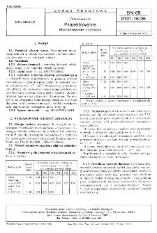 Drenowanie - Projektowanie - Wymiarowanie zbieraczy BN- 89/9191-16/06