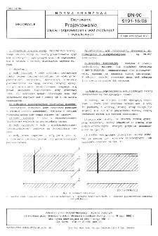 Drenowanie - Projektowanie - Ujęcie i odprowadzenie wód źródlanych i wysiąkowych BN- 90/9191-16/08