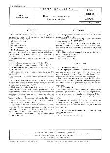 Tłuszcze zwierzęce - Ocena w chłodni BN-90/8013-03