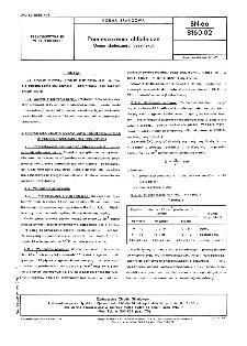 Pomieszczenia chłodnicze - Ocena skuteczności dezynfekcji BN-66/8160-02