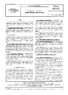 Pomieszczenia chłodnicze - Dezynfekcja aerozolowa BN-66/8160-03