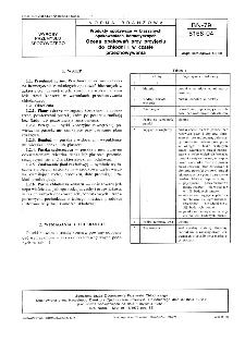 Produkty spożywcze w blaszanych opakowaniach hermetycznych - Ocena opakowań przy przyjęciu do chłodni i w czasie przechowywania BN-79/8168-04