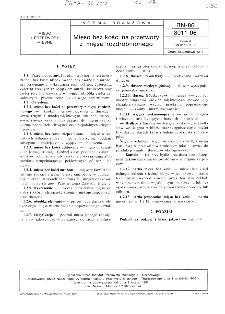 Mięso bez kości na przetwory z mięsa rozdrobnionego BN-86/8011-06