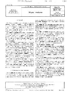 Mięso mielone BN-71/8011-13
