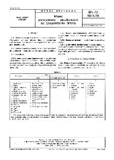 Mięso porcjowane i paczkowane na zaopatrzenie detalu BN-70/8011-20