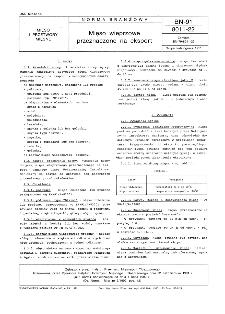 Mięso wieprzowe przeznaczone na eksport BN-91/8011-22