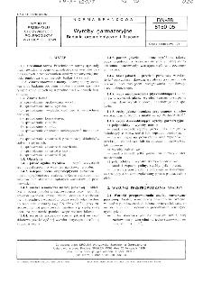 Wyroby garmażeryjne - Badania organoleptyczne i fizyczne BN-88/8150-05