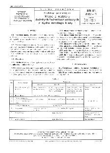 Produkcja garmażeryjna - Mięso z rozbioru świeżych ćwierćtusz wołowych z bydła młodego klasy 1 BN-81/8151-12