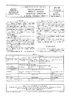 Produkcja garmażeryjna - Mięso z rozbioru ćwierćtusz wołowych z bydła młodego klasy 2 BN-80/8151-13