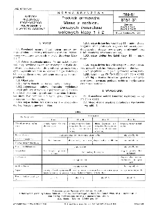 Produkcja garmażeryjna - Mięso z rozbioru świeżych ćwierćtusz wołowych klasy 1 i 2 BN-81/8151-31